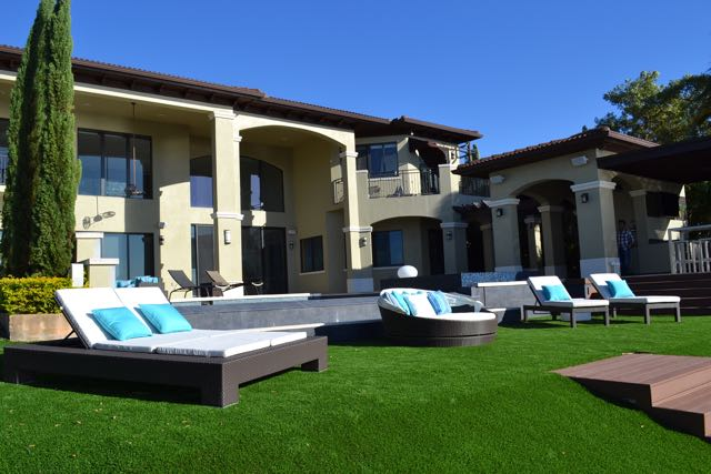 Artificial grass & Ivy Walls