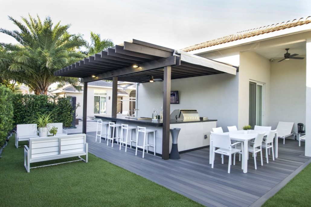 Custom Outdoor Living Spaces In Miami Contact Us To