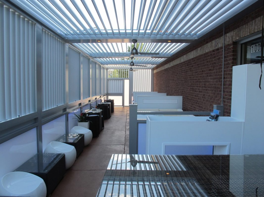 Louvered Roofs The Patio District