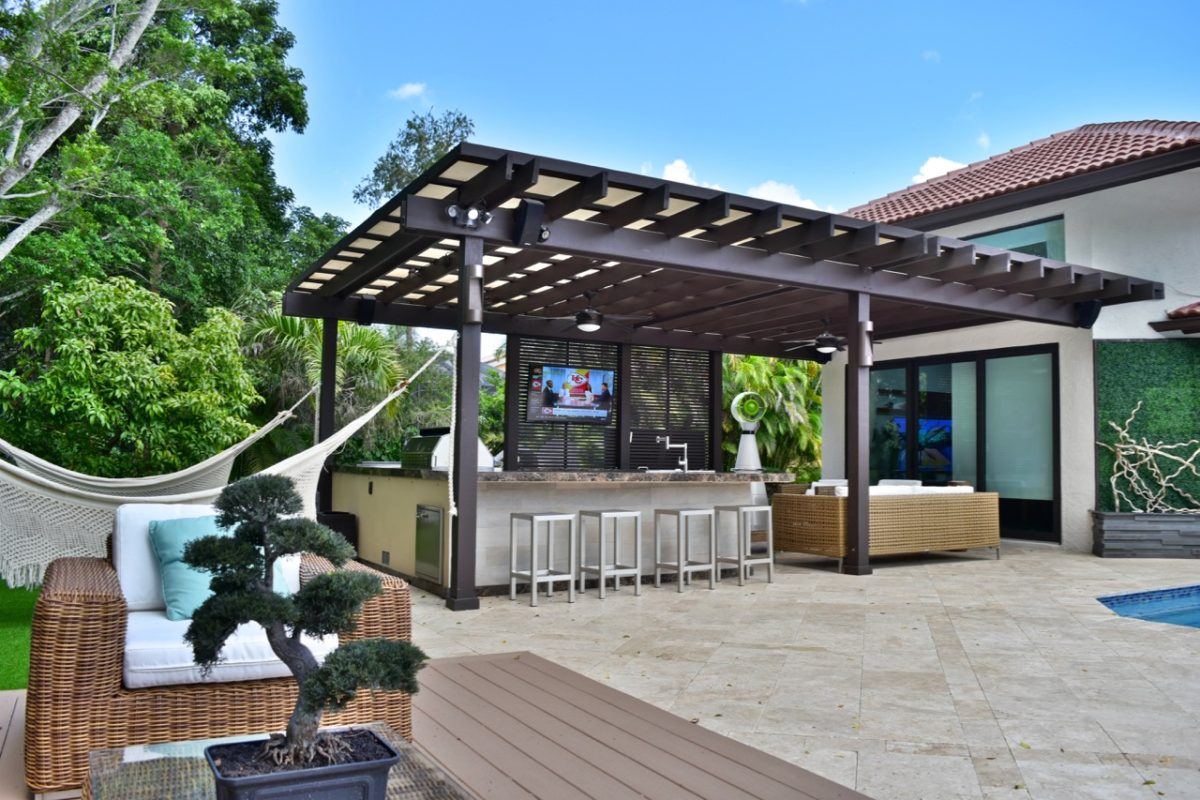 Charming Pergolas Miami U0026 Fort Lauderdale. Custom Patio Pavers