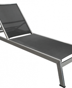 Sicilia chaise lounge with sling