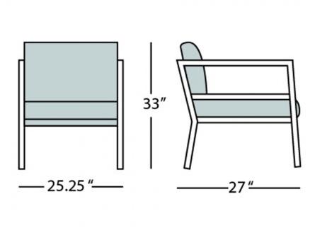 cali armchair form