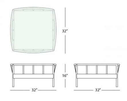 oslo coffee table form