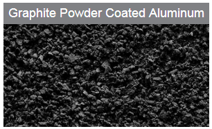 powder coated aluminum
