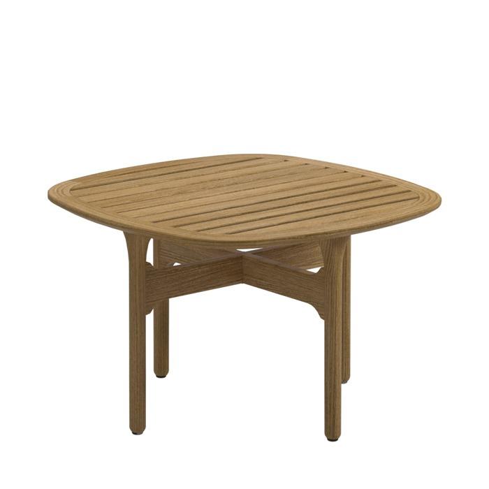 Side Table Teak.Gloster Bay Square Side Table Teak Top