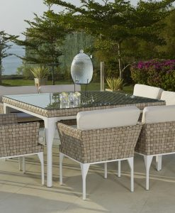 Brafta Large Square Dining Set