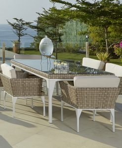 Brafta rectangular dining set
