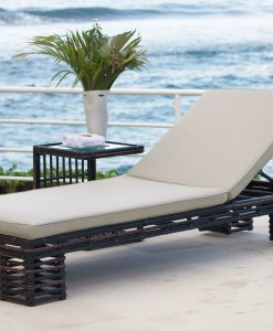 Topaz chaise lounger set 1
