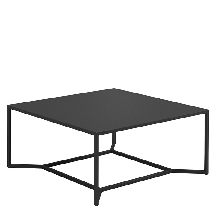 Remarkable Gloster Square High Coffee Table Aluminium Top Beatyapartments Chair Design Images Beatyapartmentscom