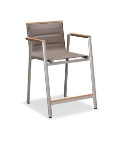 geneva counter arm chair