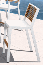 st lucia bar side chair