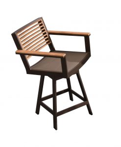 st lucia counter swivel chair