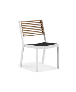 st lucia dining side chair white