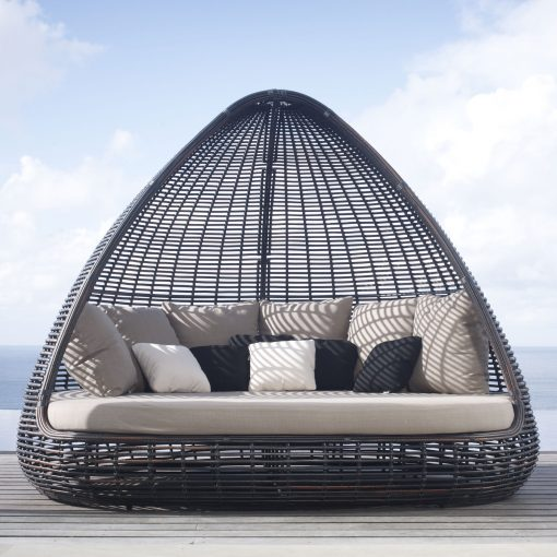 Shade daybed black