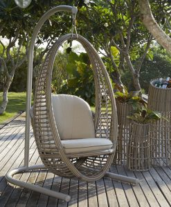 heri hanging chair taupe