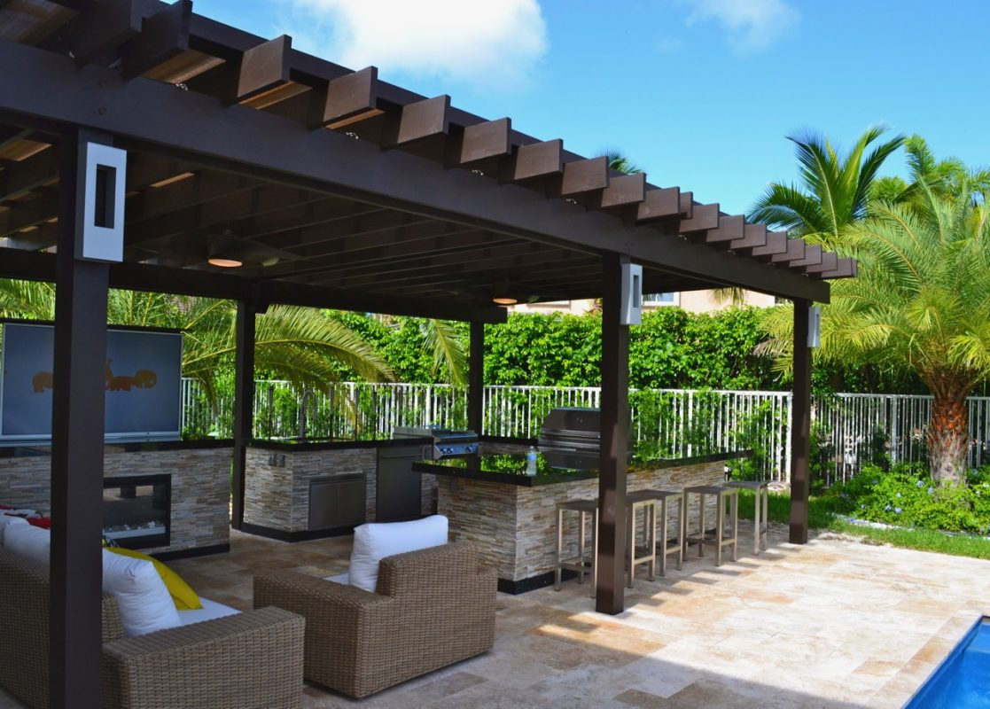 Custom Pergolas Miami Fort Lauderdale The Patio District